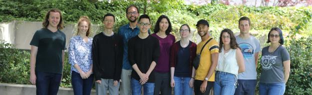 Lab members, August 2019